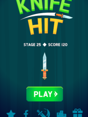 Knife Hit на ПК на playmarket-pk.ru