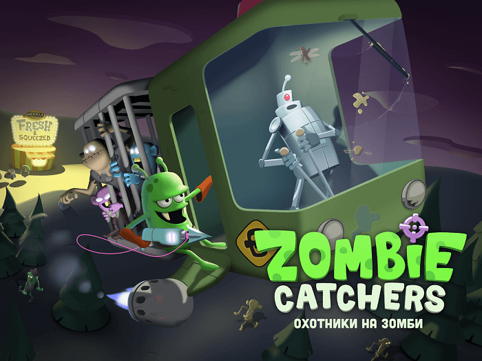 Zombie Catchers 01